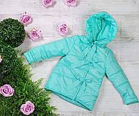 Куртка весна-осень 783, размеры 134-146 (7-11 лет), цвет голубой, фото 1