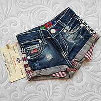 Стильные джинсовые шорты Dsquared