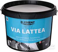 Декоративное покрытие Element Decor Via Lattea перламутровый 1кг