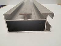 Алюминиевый профиль - направляющий (опорный) алюминиевый профиль 59,2 х 26,35 х 1,4 х 2,2
