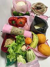 Экомешок для вещей и продуктов, еко торбинка, екоторбинка, эко-мешок