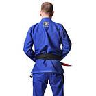 Кимоно для Бразильского Джиу-Джитсу Progress M6 Синее, фото 3