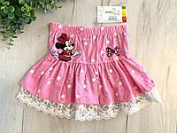 Детская котоновая юбка с Мини Мусом, фото 1