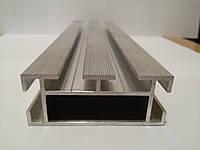 Алюминиевый профиль - направляющий (опорный) алюминиевый профиль 69,4 х 27,85 х 2,2 усиленный