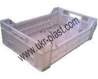 Пластиковые ящики для курицы 600 x 400 x 170 / 130