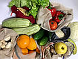 Экомешок для вещей и продуктов, еко торбинка, екоторбинка, эко-мешок, фото 3