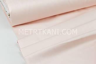 Сатин  премиум,  розово-пудровый  цвет ширина 240 см № ПС-0072