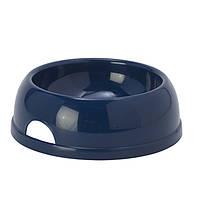 Moderna Eco №3 миска пластиковая для собак (1450 мл, d-20 см) черничный