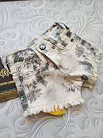 Стильные джинсовые шорты Roberto Cavalli, фото 1