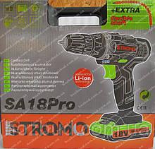Шуруповерт аккумуляторный Stromo SA18Pro