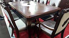 Стол обеденный деревянный для гостиной  Бостон Sof, цвет орех, фото 3