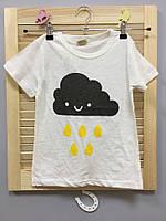 Детская футболка облако Акция! Последний размер:  130см