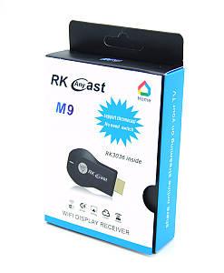 Медиаплеер Miracast AnyCast M9 с встроенным Wi-Fi модулем для iOS/Android