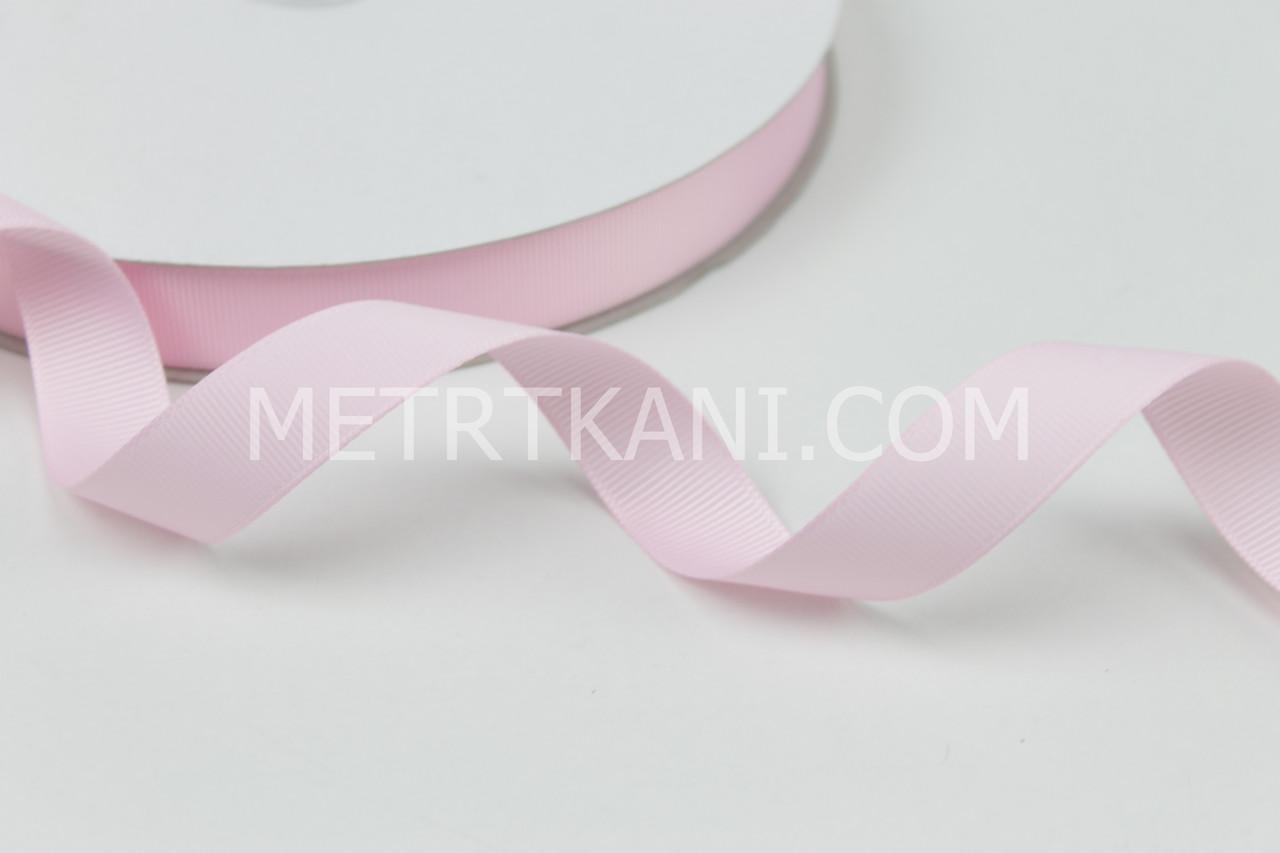 Лента репсовая 20 мм нежно-розового цвета, № А5-06-010