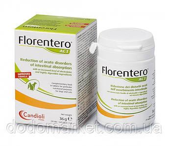 Таблетки Candioli Florentero ACT (30 шт) для нормалізації роботи шлунково-кишкового тракту тварин