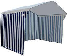 Тент тканевый 1,5*1,5 м для торговой палатки