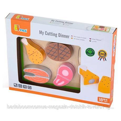 """Игровой набор Viga Toys """"Пикник"""" (50980)"""