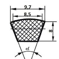 Ремень клиновой  SPZ-850