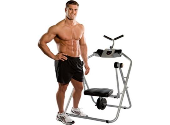 Тренажер для мышц живота Ab Flyer Abdominal Exerciser Abs Toning Crunch Machine Fitness