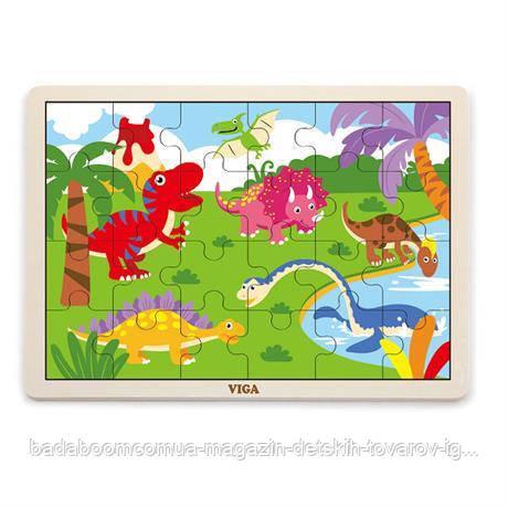 "Пазл Viga Toys ""Динозавр"" (51460)"