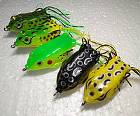 Лягушка незацепляйка 5 расцветок, вес приманки 13,5 г, длина 5,5 см