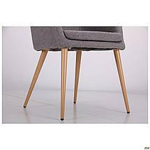 Кресло Франческо DC-1733 бук/серый TM AMF, фото 2