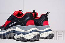 Женские кроссовки Balenciaga Triple S Red Баленсиага Трипл С красные, фото 2