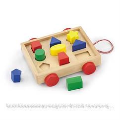 """Сортер Viga Toys """"Тележка с блоками"""" (58583)"""