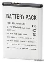 Аккумуляторная батарея PowerPlant AB463651BU 1700 mAh для Samsung S3650,S5620,S7070,L700,S5560,S5600,B3410 12 мес. гарантии (DV00DV6077)