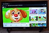 "Телевізор SmartTV SONY 42"" 4K 3840x2160,LED, IPTV, Android 9, T2, WIFI, USB, HDMI BluetoothКОРЕЯ!, фото 10"