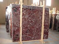 Мраморные слябы Rosso Levanto