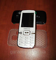 Samsung S 4 (Dual Sim, 2 сим карты) кнопочный самсунг c4 моноблок + чехол