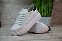 Женские кожаные кроссовки/кеды Guess
