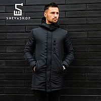 Куртка мужская демисезонная Baterson Damsk черный  S
