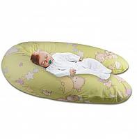 """Подушка для беременных и кормления ребенка Marselle """"Стандарт"""" (силикон 164 х 70 см)"""