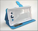 Синий чехол-книжка View Case для смартфона LG L60 Dual X135 X145, фото 3