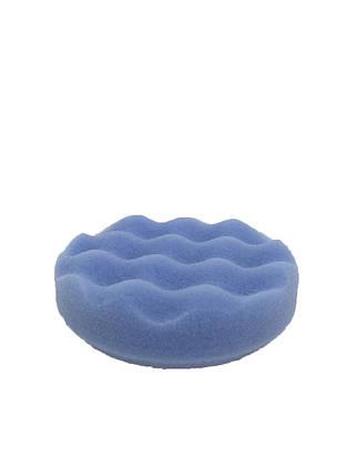 Полировальный круг рифленый глейз - Lake Country Waffle Pro Blue Finessing Foam 75 мм (WP-9235-76MM), фото 2