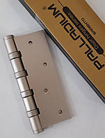 Петли дверные Palladium 100мм никель