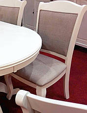 Стул для гостиной Мадрид Sof, цвет белый, фото 2
