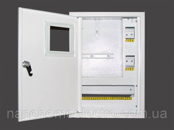 Шкаф металический для 1ф счетчика на 16 автоматов (накладной)