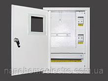 Накладной шкаф металический 1 фазный счетчик на 16 автоматов