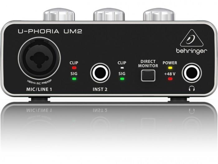 Звукова карта аудіоінтерфейс Behringer Uphoria UM2