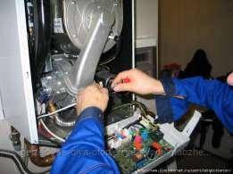 Ремонт газовых  котлов, конвекторов, колонок.