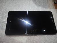 Модуль дисплея для nokia lumia 1320 в рамке оригинал б.у.
