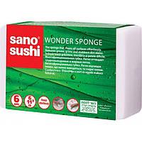 Sano Sushi Wonder Sponge - Чудо губка, 6 шт