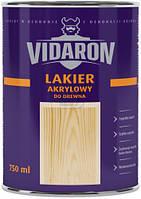 Лак акриловый для древесины Lakier Akrylowy Vidaron шелковистый глянец 0,75 л
