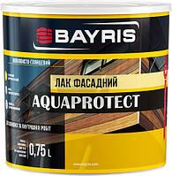 Лак фасадный Aquaprotect Bayris шелковистый глянец 0,75 л