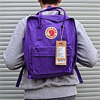 Рюкзак  Fjallraven Kanken, фиолетового цвета. Реплика