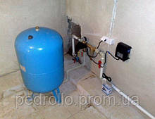Система водоснабжения на базе скважинного насоса