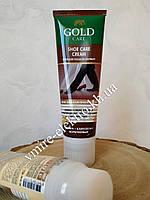 Крем для ухода за обувью Коричневый Gold Care 80 мл